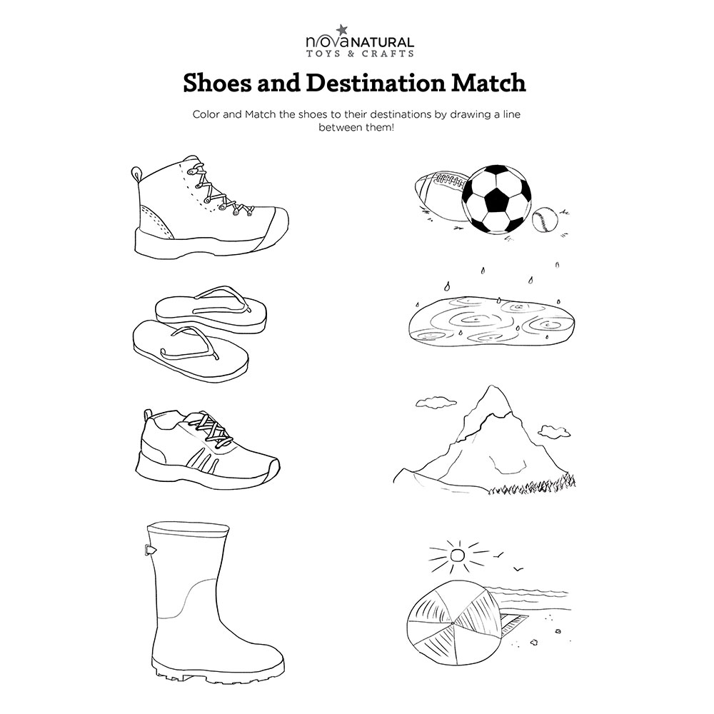 Shoe and Destination Match